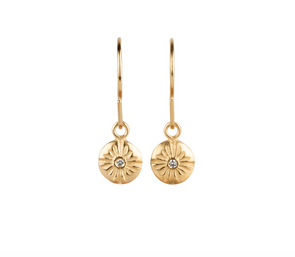 Lucia Dangle Earrings | 14k Vermeil