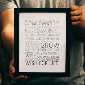 Wish For Life | 8x10 Print