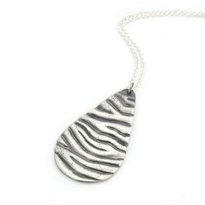 Tidal Teardrop Necklace
