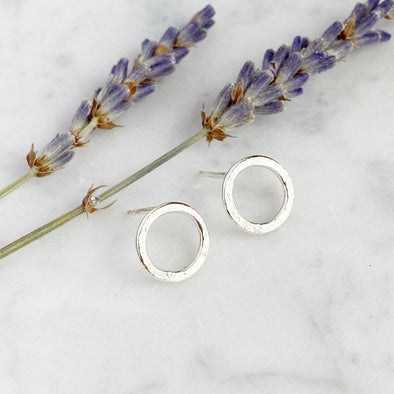 Little Halo Studs | Silver