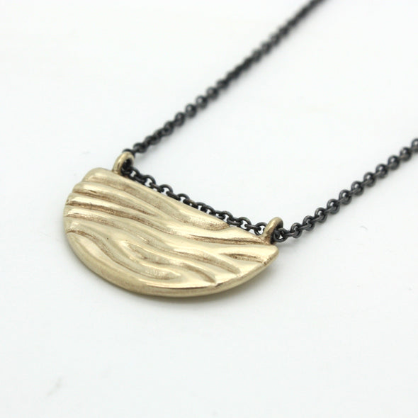 Mini Tidal Necklace in 14k Gold