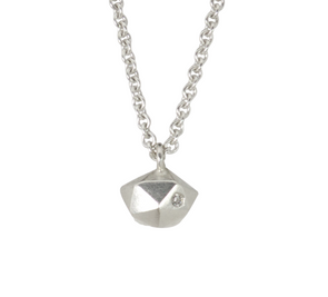 Fragment Necklace | Silver