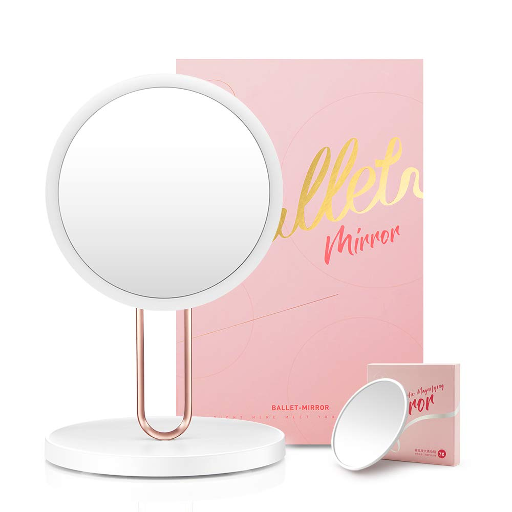 Funtouch Smart Lighted Vanity Makeup Mirror with Natural Daylight