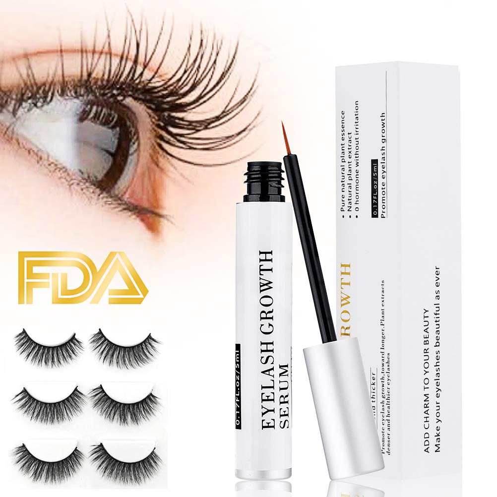 038d42889f6 Eyelash growth serum Eyelash Growth Enhancer & Brow Serum for Long,  Luscious Lashes and Eyebrows
