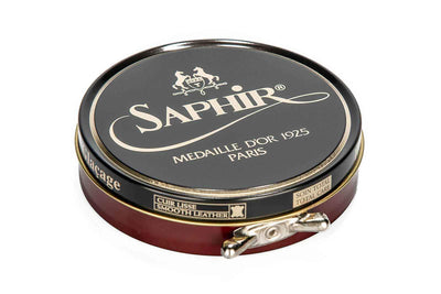 Saphir Medaille d'Or Pate de Luxe Wax Polish (100ml)