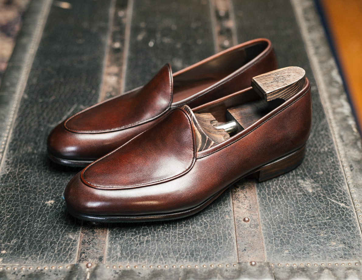 BLW Belgian Loafers (Brown Calf)
