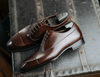 PRE ORDER - BR2 Balmoral Oxford (Tobacco Brown)