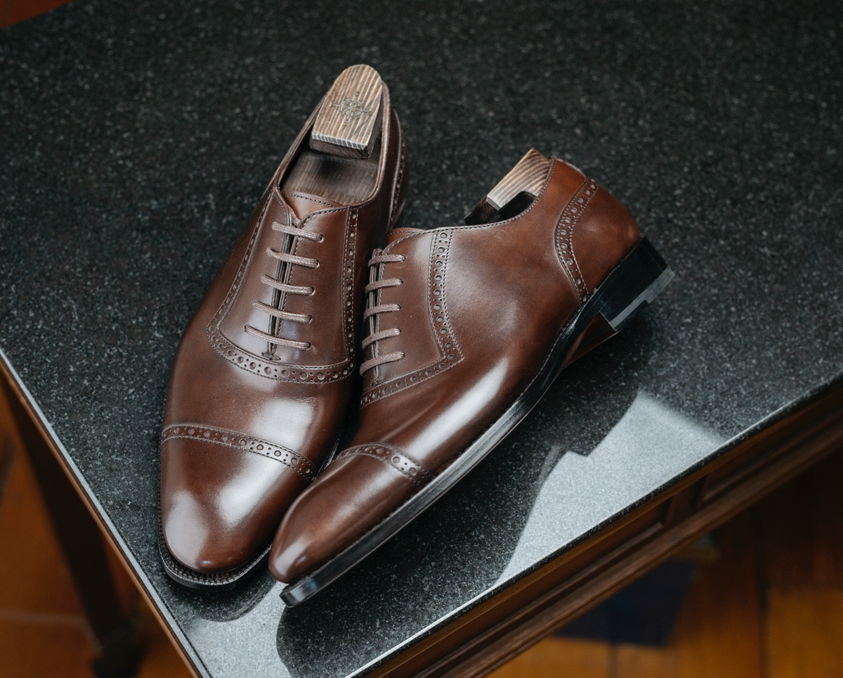 GMTO - AR3 Adelaide oxfords (Tobacco Brown)