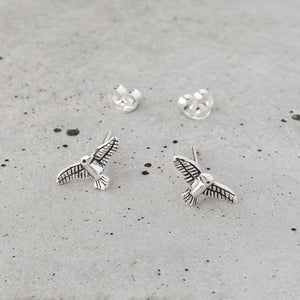 Sterling Silver Seagull Studs