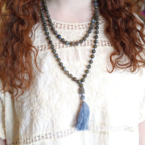 Labradorite Mala Necklace