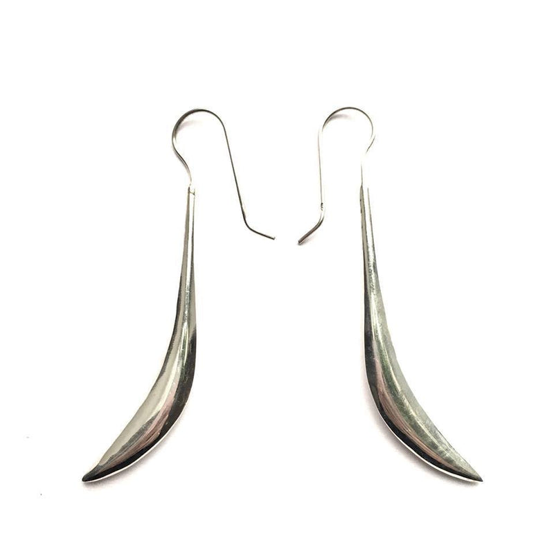 Sterling Silver Blade Earrings