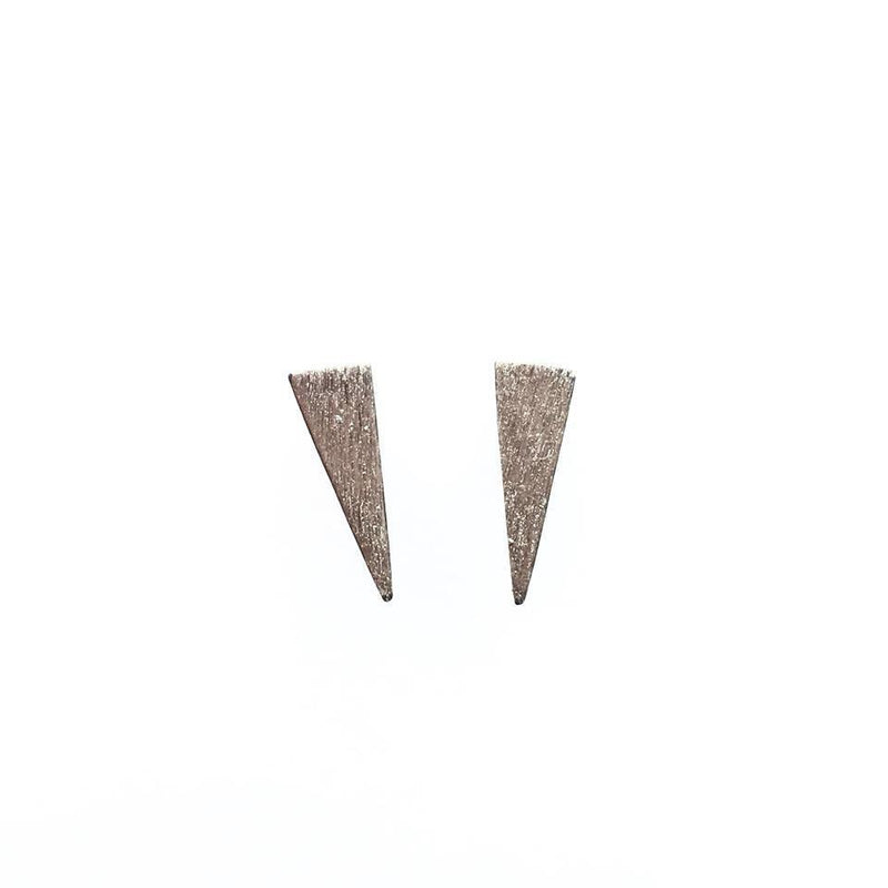 Sterling Silver Spike Studs