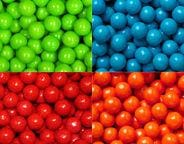 Gumballs by Color