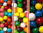 Gumballs by Size