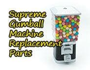 Supreme Gumball Machine Replacement Parts