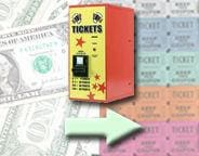Ticket Dispenser Change Machines