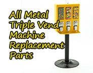 Triple Vending Machine Replacement Parts