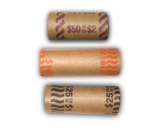 $0.25 Cash Rolls - Gumball Machine Warehouse