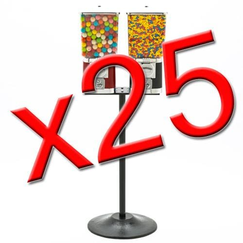 25 Double Supreme Gumball Machines - Gumball Machine Warehouse