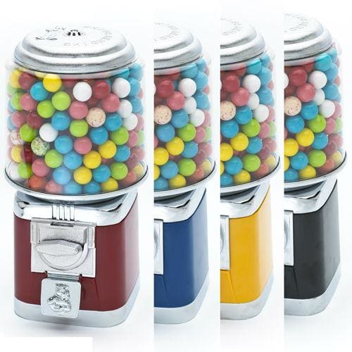 3 All Metal Gumball Machines W/ Stands - Gumball Machine Warehouse