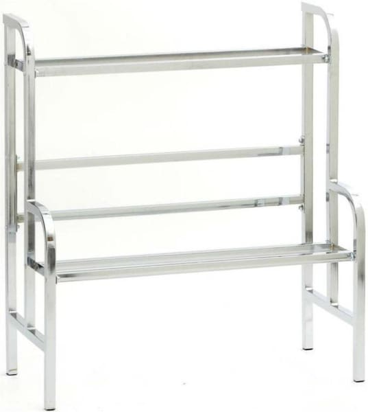 33 Chrome Bulk Vending Rack - Gumball Machine Warehouse