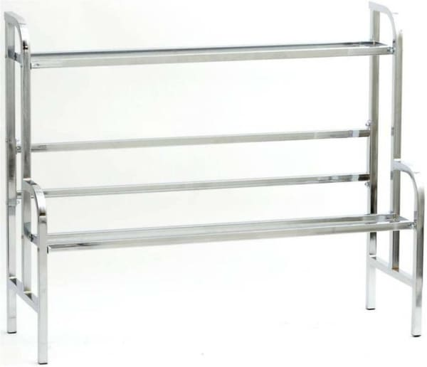 45 Chrome Bulk Vending Rack - Gumball Machine Warehouse