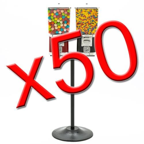 50 Double Supreme Gumball Machines - Gumball Machine Warehouse