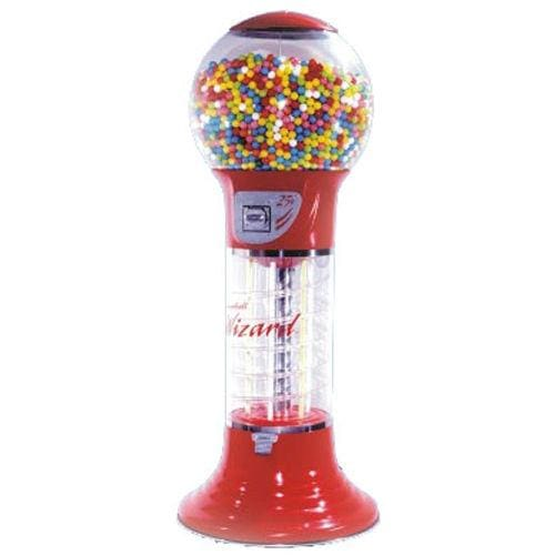56 Giant Wizard Spiral Gumball Machine - Gumball Machine Warehouse