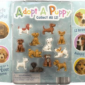Adopt A Puppy Figurines In Capsules - Gumball Machine Warehouse
