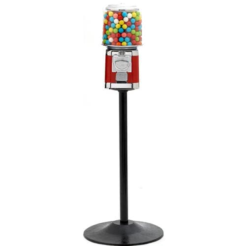 All Metal Gumball Machine With Stand - Gumball Machine Warehouse