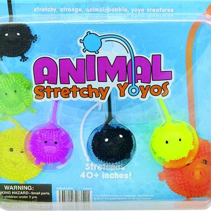 Animal Stretchy Yoyo Balls In 2 Inch Toy Capsules - Gumball Machine Warehouse