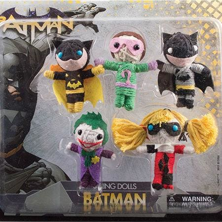 Batman String Dolls In 2 Inch Capsules - Gumball Machine Warehouse