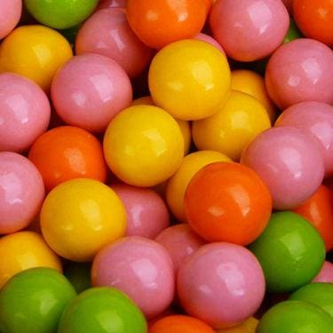 Bubble Brights Gumballs (850 Count) - Gumball Machine Warehouse