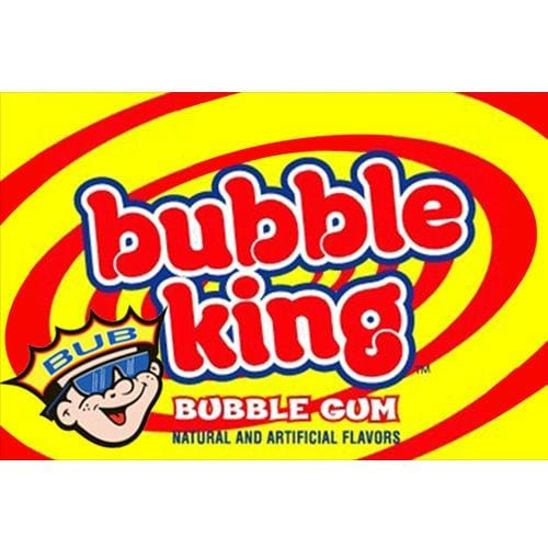 Bubble King Gumballs Vending Machine Label - Gumball Machine Warehouse