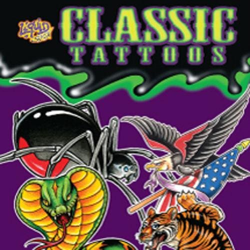 Classic Temporary Tattoos (By Liquid Skin) - Gumball Machine Warehouse