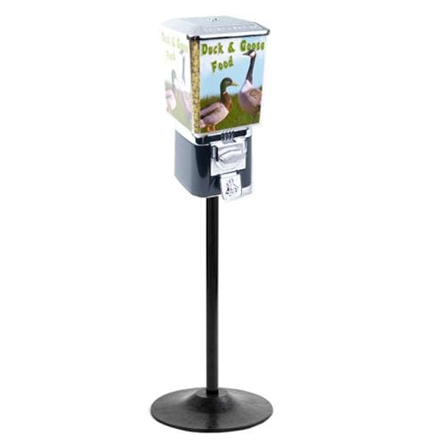 Coin Operated Duck And Goose Food Dispenser With Stand - Gumball Machine Warehouse