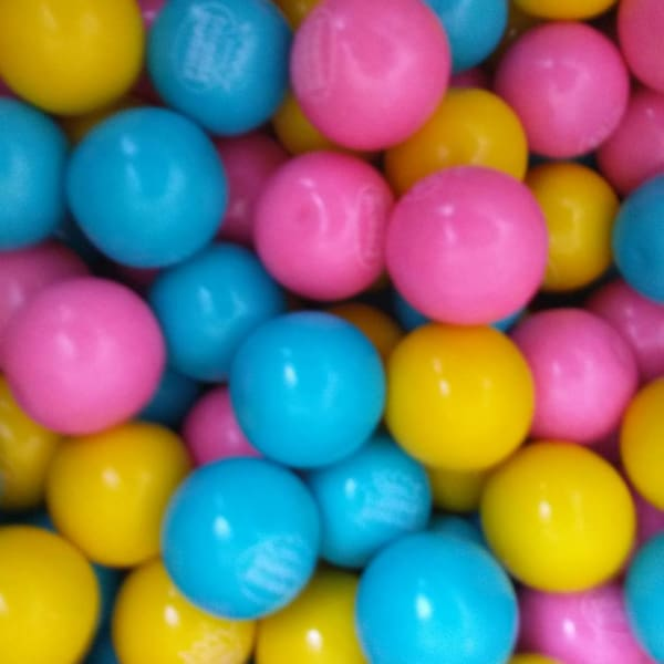 Cotton Candy Gumballs (850 Count) - Gumball Machine Warehouse