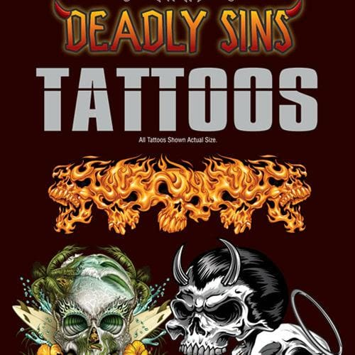 Deadly Sin And Twisted Fate Tattoos - Gumball Machine Warehouse