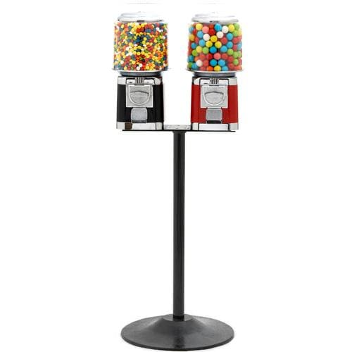 Double All Metal Gumball Machines - Gumball Machine Warehouse