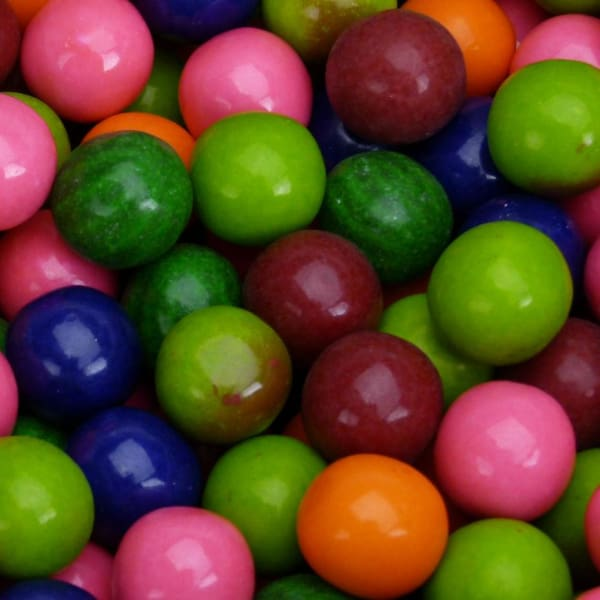 Dubble Bubble Assorted Fruit Gumballs (1080 Count) - Gumball Machine Warehouse