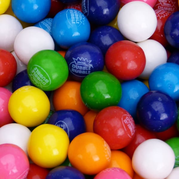 Dubble Bubble Assorted Gumballs (1430 Count) - Gumball Machine Warehouse