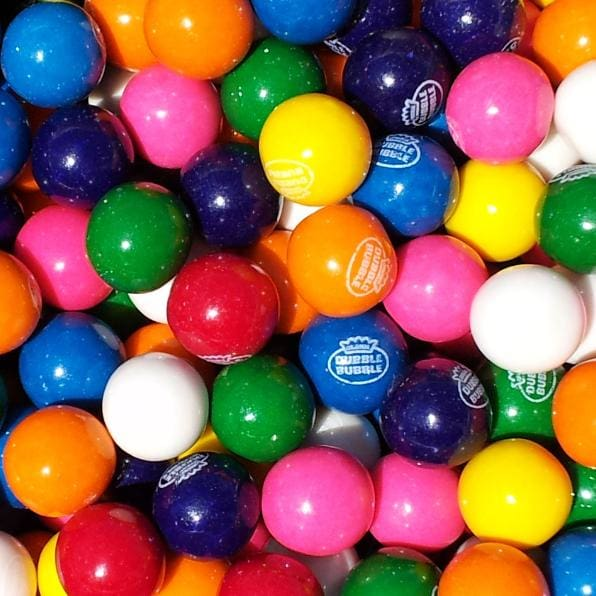 Dubble Bubble Assorted Gumballs (600 Count) - Gumball Machine Warehouse