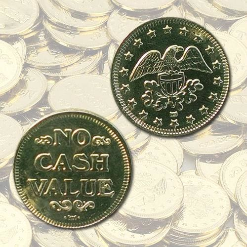 Eagle No Cash Value Vending Tokens - Gumball Machine Warehouse
