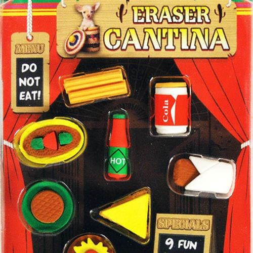 Eraser Cantina Vending Toys In 1 Inch Toy Capsules - Gumball Machine Warehouse