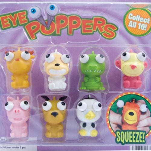 Eye Poppers Vending Toys In 2 Inch Toy Capsules - Gumball Machine Warehouse