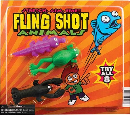 Fling Shot Animals In 2 Inch Toy Capsules - Gumball Machine Warehouse