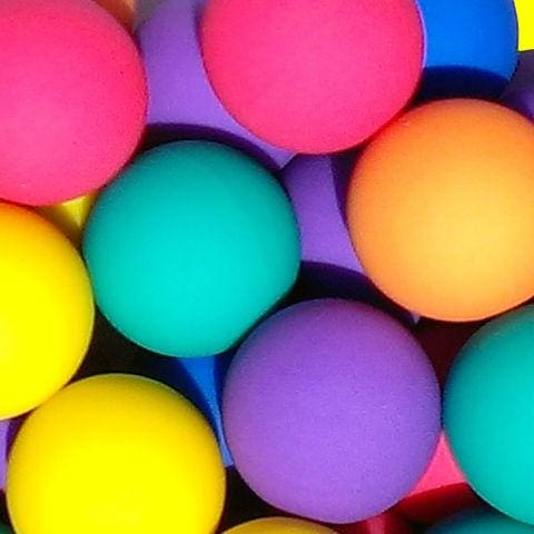 Frosty Bouncy Balls 49Mm - Gumball Machine Warehouse