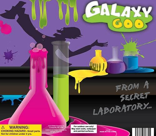 Galaxy Goo In 2 Inch Toy Capsules - Gumball Machine Warehouse