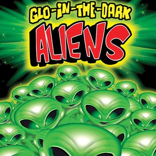 Glow In The Dark Mini Alien Figurine Vending Toys In 1 Inch Toy Capsules - Gumball Machine Warehouse