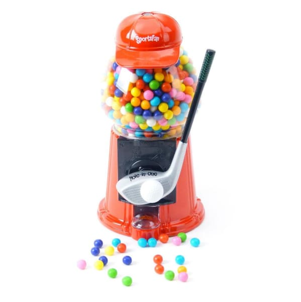 Golf Sports Fan Gumball Machine - Gumball Machine Warehouse